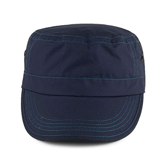 e2da900f Failsworth Hats Showerproof Dry Wax Army Cap - Navy: Amazon.co.uk: Clothing