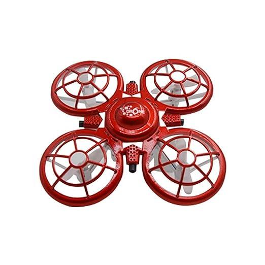 LDFANG Gesto Inducción Drone Avión Giratorio Avión Juguete Modelo ...