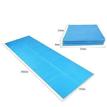 GBGLL Li- Portátil Plegable Yoga Mat, Yoga Mat Length 1830 ...