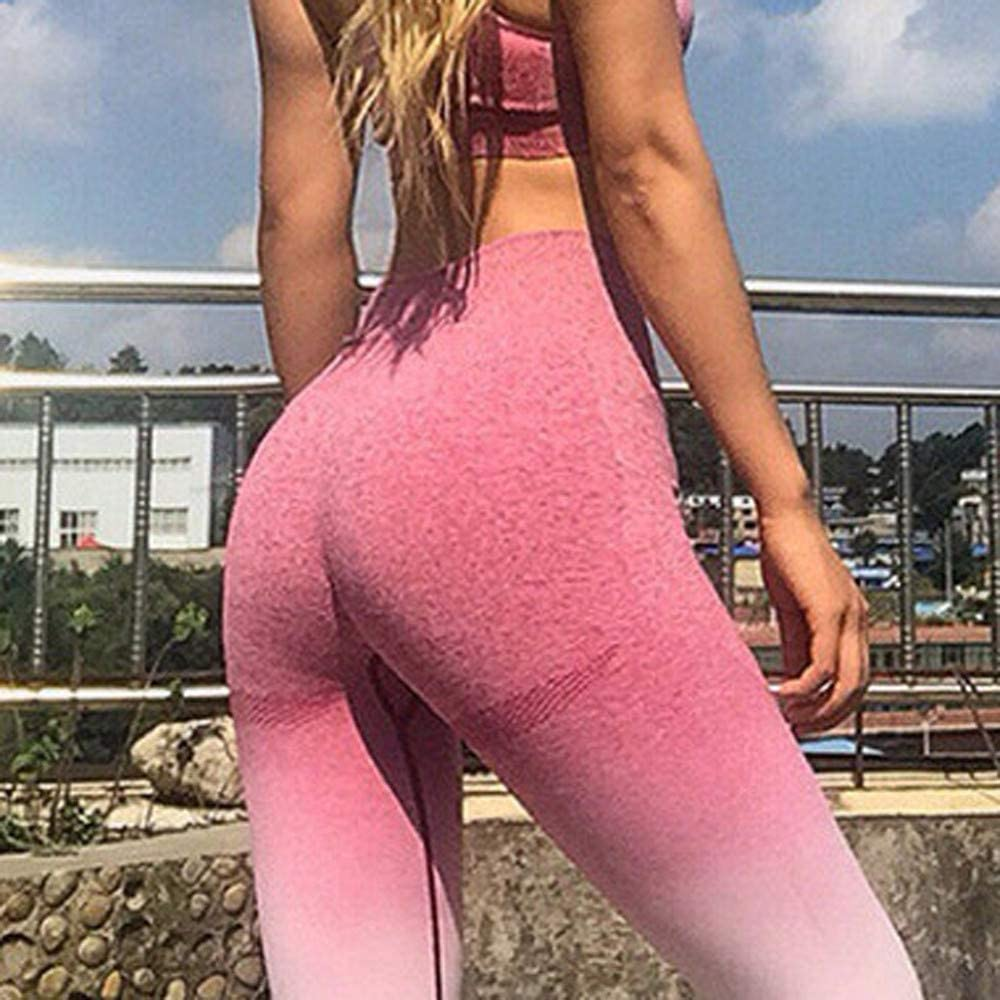 Emubody Women Workout Tie Dye Print Leggings Fitness Sport Gym Yoga Athletic Pants