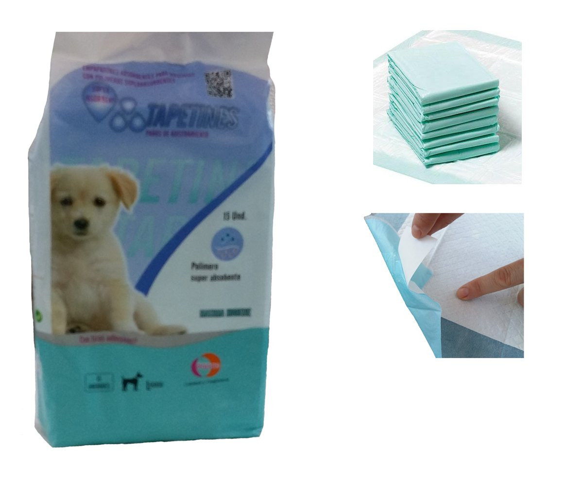 EMPAPADOR SUPERABSORBENTE PARA CACHORROS - Empapador de adiestramiento de perros para hacer pipí, absorbentes y antibacterianos para mantener una limpieza ...