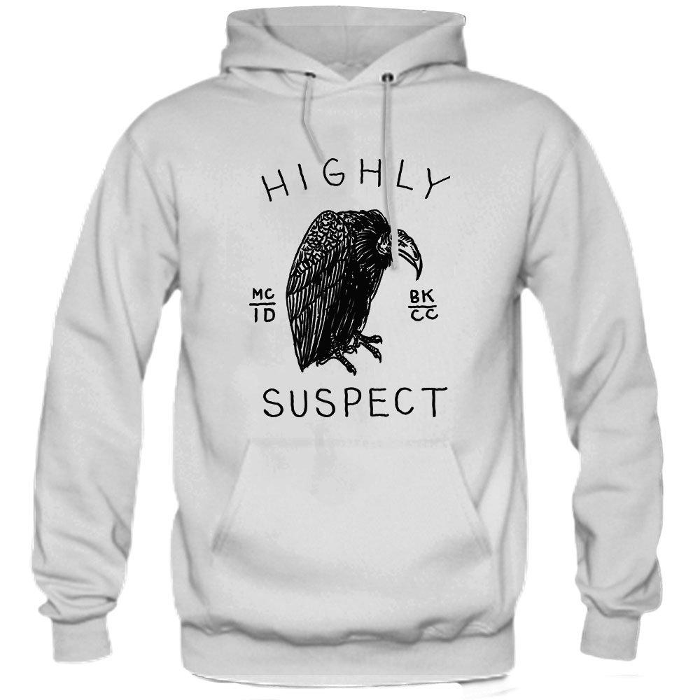 a608046e16c Amazon.com  pinnTee Highly Suspect Logo Cover Hoodie  Clothing