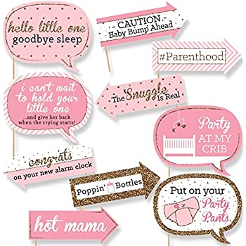 Amazon Com Baby Shower Photo Booth Prop Banner Garland Bunting