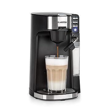 Klarstein Baristomat • Cafetera automática 2 en 1 • Máquina de café y té • Sin