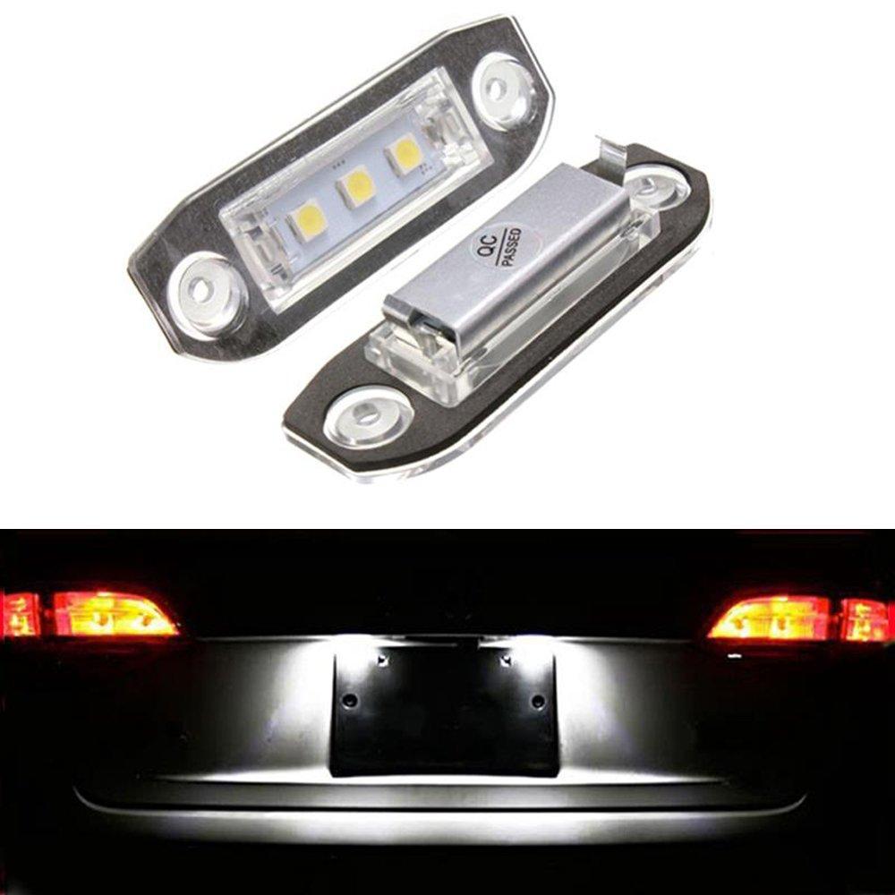 Haichen 2PCS LED numero di targa luce lampada auto parcheggio esterno lampada