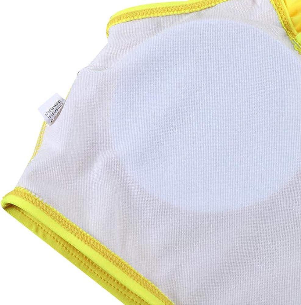 Miyanuby Bademode f/ür Frauen Baby M/ädchen Familie Passender Riemen Bikini Damen und M/ädchen Badeanzug Gelb Beachwear Badeanz/üge