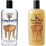 Howard Butcher Block Conditioner and Cutting Board Oil 12 oz, Food Grade Conditioner and Oil, Great for Wooden Bowls and Uten