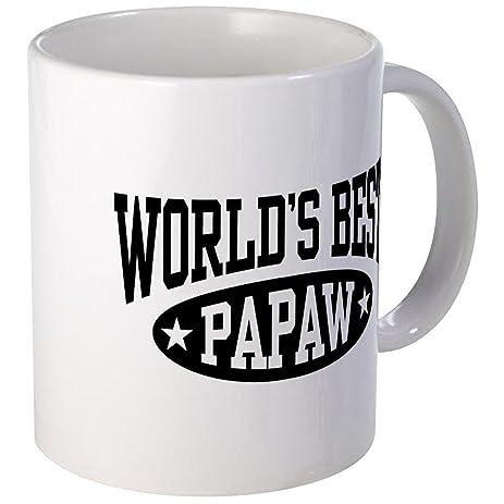 cafepress worldu0027s best papaw mug unique coffee mug coffee cup