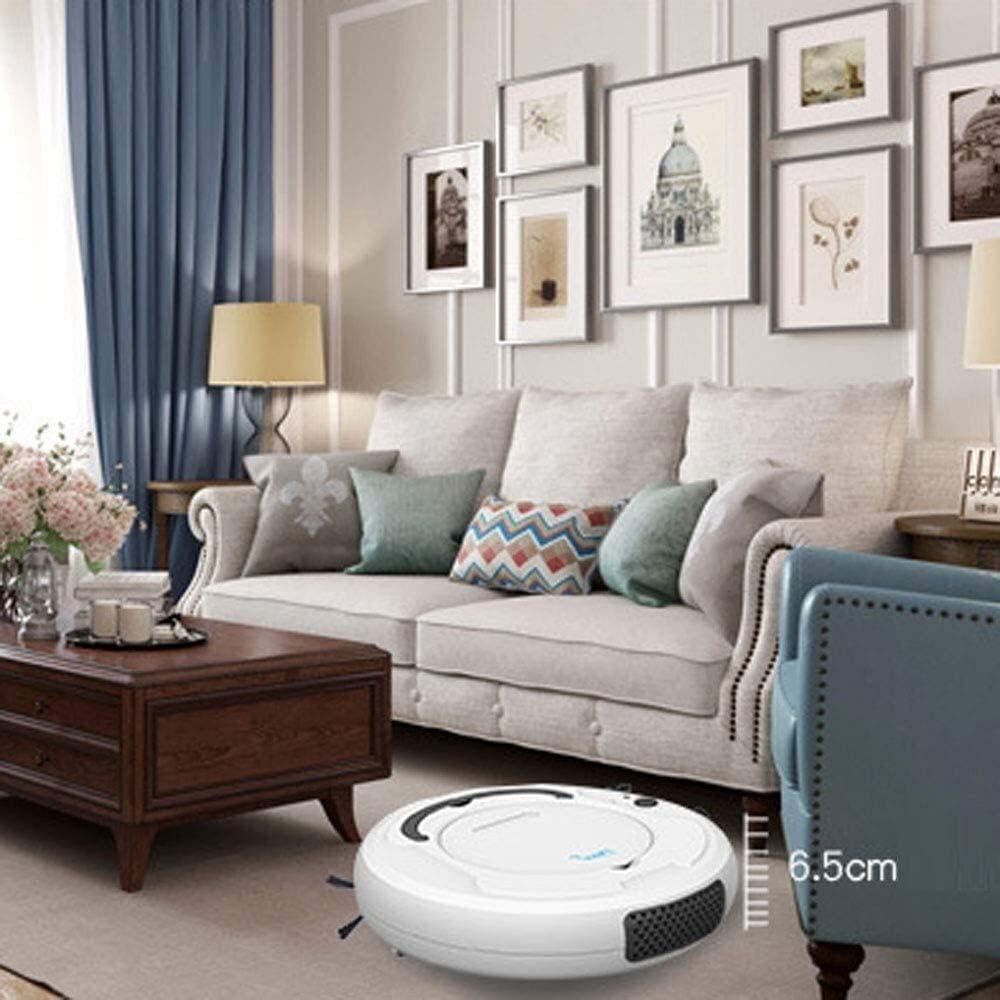 Thumby Robot de Balayage Intelligent, aspirateur, la Charge des ménages, Trois-en-Un Robot de Balayage, Don d\'appareils ménagers jianyu (Color : Gray) White