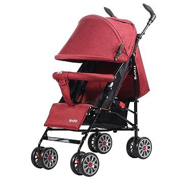 Olydmsky Carro Bebe,Coche de bebé Plegable Super Ligero Puede Sentarse Carro fácil niños Coche: Amazon.es: Hogar