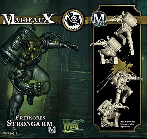 Wyrd Miniatures 20517 Outcasts Freikorps Strongarm Box M2E by Wyrd Miniatures