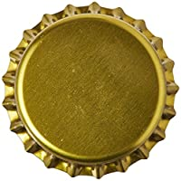 Tapas de botellas Home Crown Ohio Gold Crown (paquete de 144)