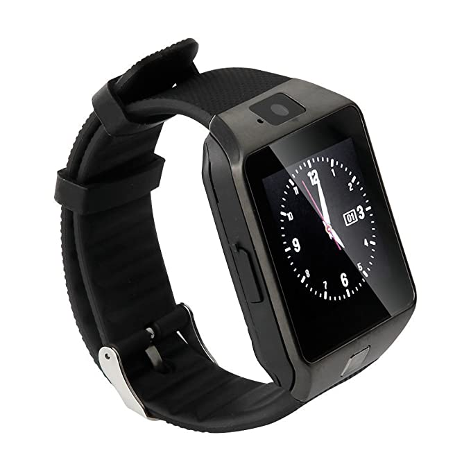 SMART Watch, Bluetooth Smart Watch avec emplacement pour carte SIM ...