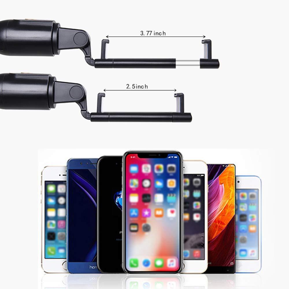 Samsung Qoosea Palo Selfie Extensible y Plegable Tel/éfono Bluetooth Tr/ípode Palo Selfie con Control Remoto inal/ámbrico Compatible con iPhone X//XS//XR//8//7//6 Huawei,Xiaomi Negro