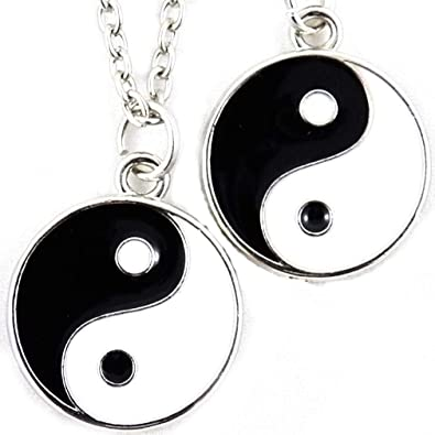collier yin yang homme