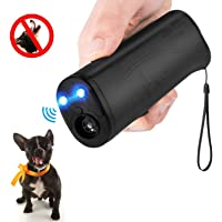 MEIREN Anti Barking Device, Handheld Dog Repellent and Training Aid with LED Flashlight,…