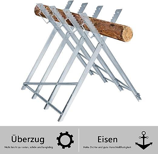 Sägebock 150KG Kettensägebock  Holzsägebock Holz-Schneidebock Kettensäge