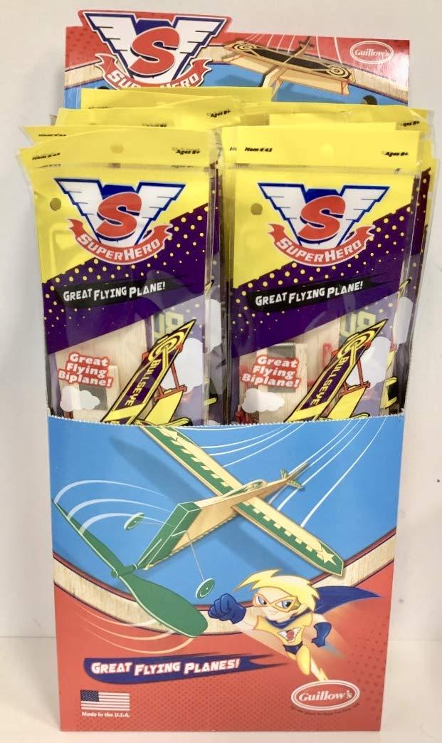Guillow's Bullseye Biplane by Guillow