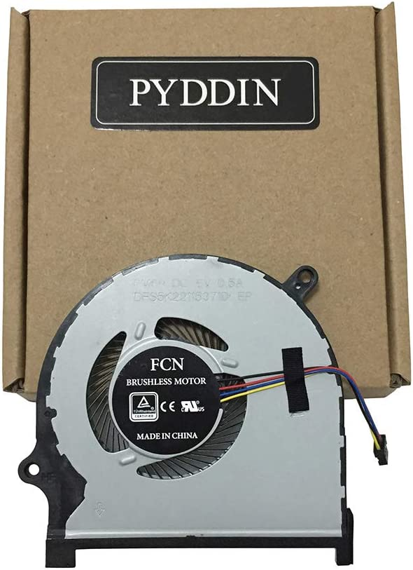 New GPU Cooling Fan for Dell Insprion 15 7590 7591 P83F Series DP/N: 0861FC (GPU Fan)