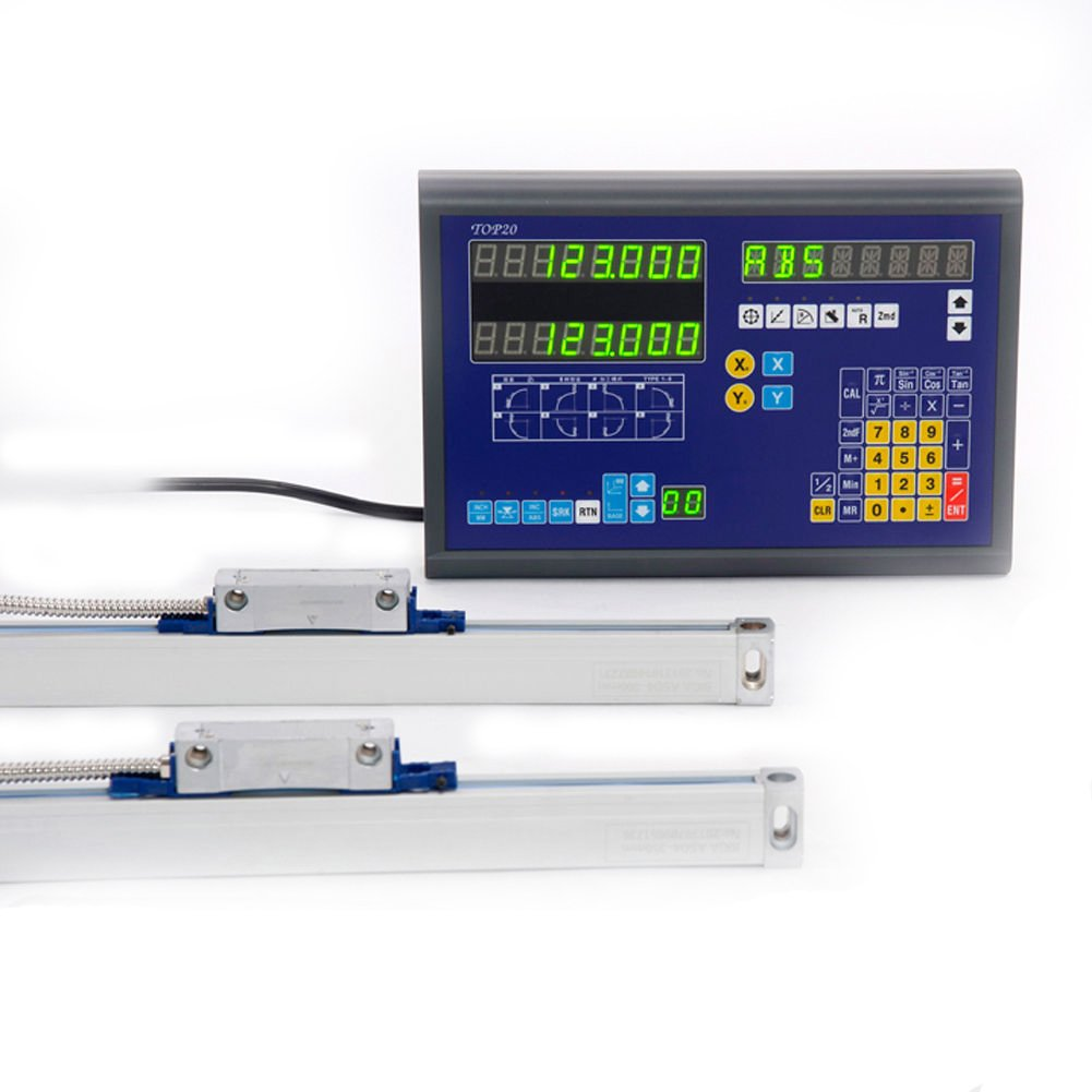 BiGa 2 Axis Dro Digital Readout Mill Lathe Machine with Linear Encoder Linear Scale