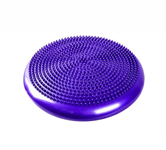 LIUXIN Balón de Yoga, cojín de Masaje Cojín Espesar Equilibrio a ...
