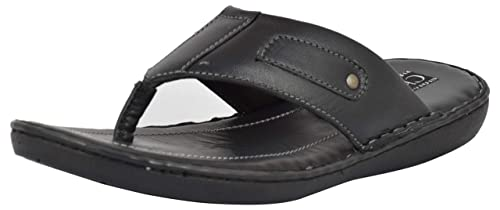 2e317a7a86d9 Chamois Men s Leather Flip-Flops  Buy Online at Low Prices in India ...