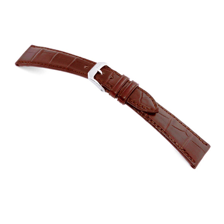 19x14mm RIOS1931 Mahogany Geneve - Genuine Matte Alligator Watch Band for Patek Philippe Watches 114x82