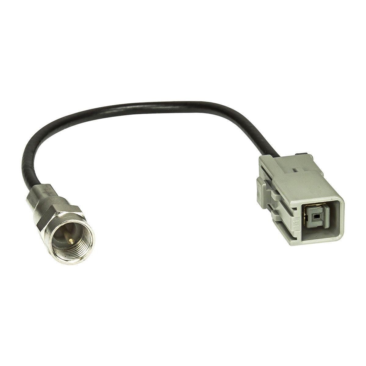 M Stecker f/ür Alpine Clarion Kenwood F tomzz Audio /® 1500-011 GPS Antennen Adapter GT5 Buchse auf FME