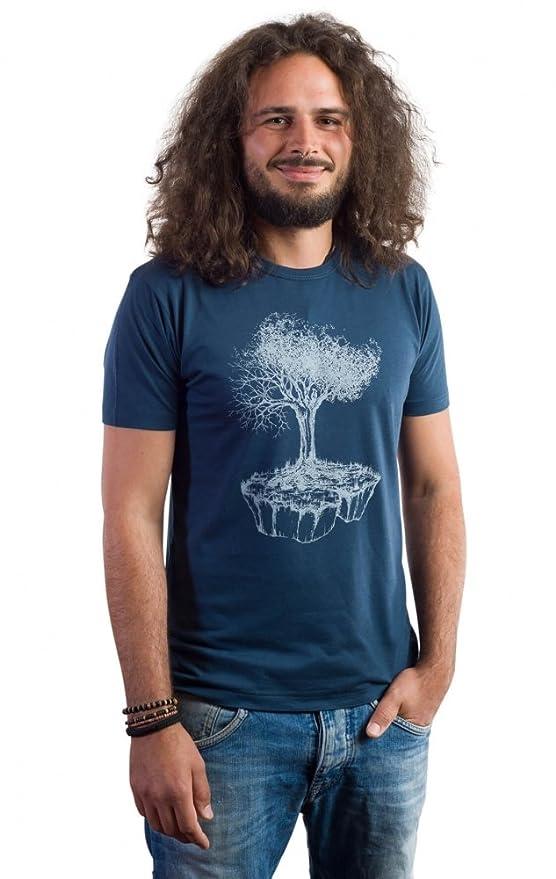 Camiseta Hombre Birds Island de bambú