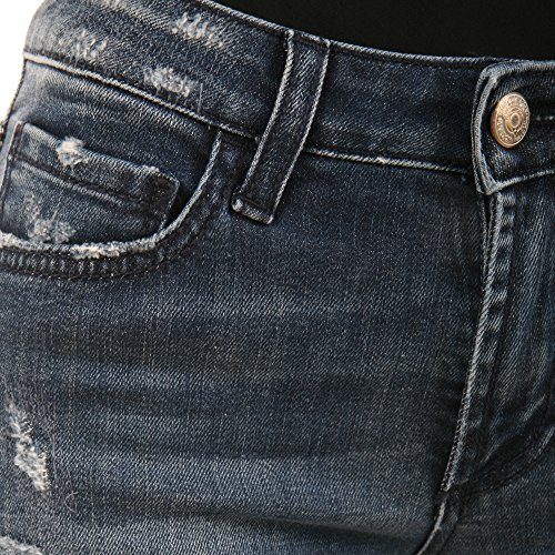 Nd0013d0410527nr999 Roger's Roy Blu Jeans Cotone Donna qZWSa