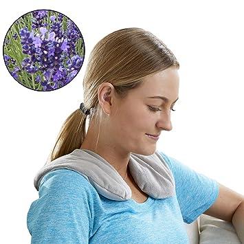 Carex - Cuello de lavanda con terapia de frío y calor para aliviar ...