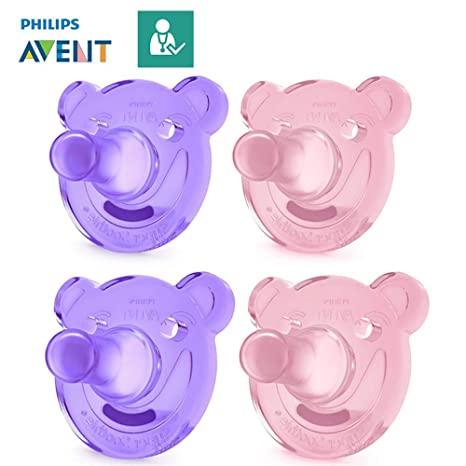 Philips AVENT Chupetes soothie//0 - 3 MO & 3 + Mo//(Talla 1 ...
