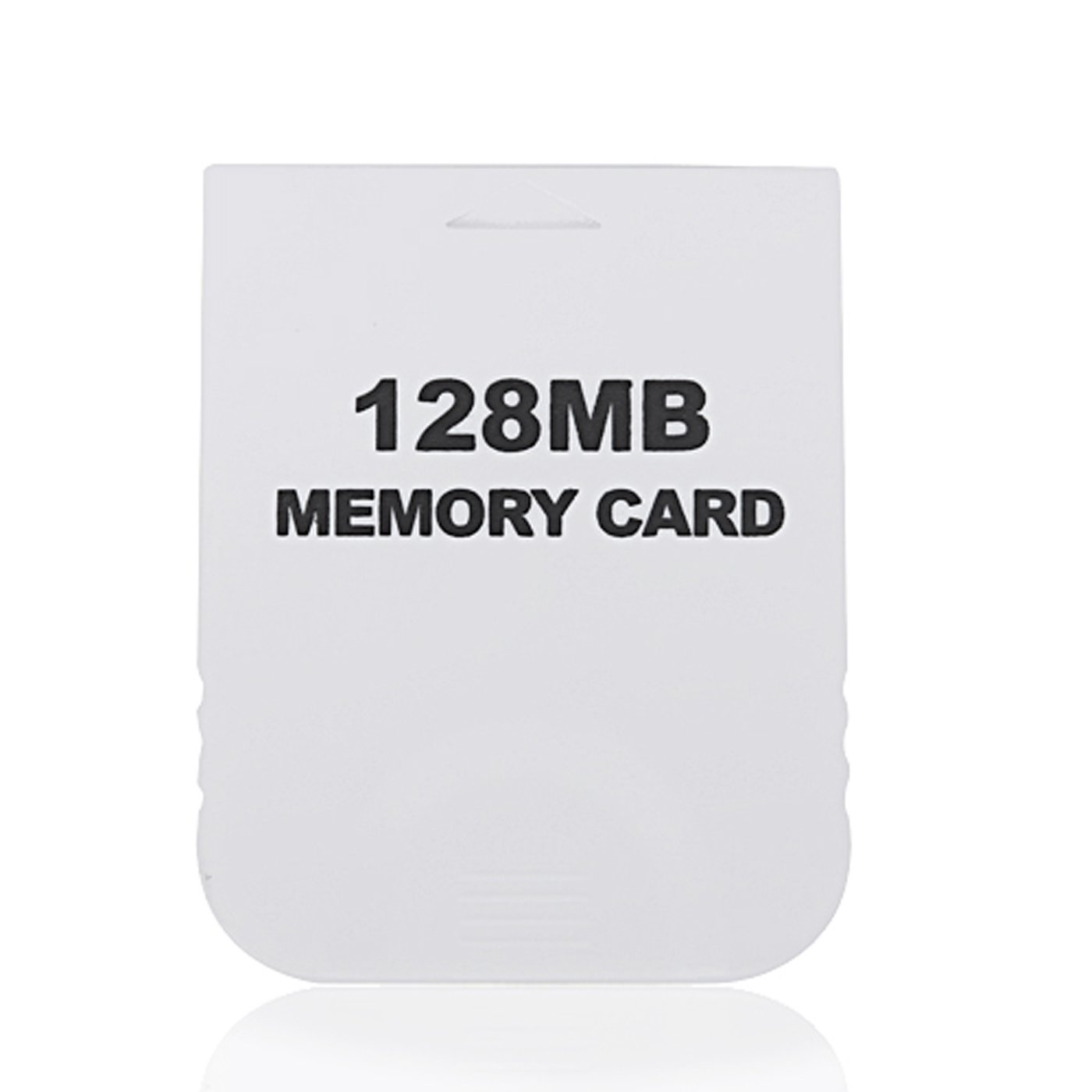 HDE 128MB (2048 Blocks) White Memory Card for Nintendo GameCube or Wii Consoles