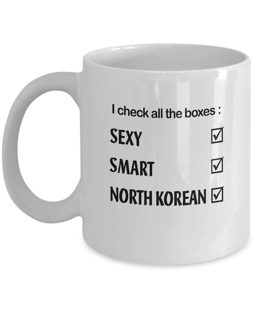 Amazon Sexy Smart NORTH KOREAN Coffee Mug