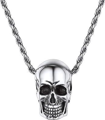 collier homme argent pendentif