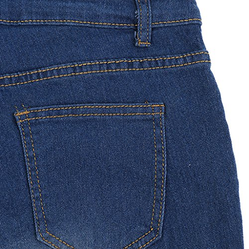 Ripped Femme Pantalon Bleu Baoblade Denim En Vtements Afflig Jeans 4BwxqP
