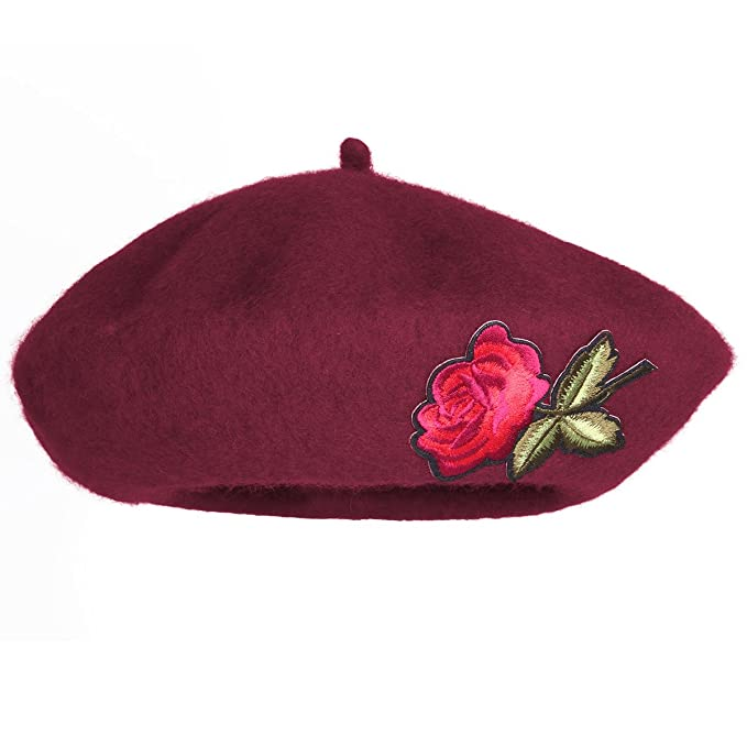 Fashion Wool Beret Warm Winter Autumn Baby Girl Hat French Artist Ski Cap Gift
