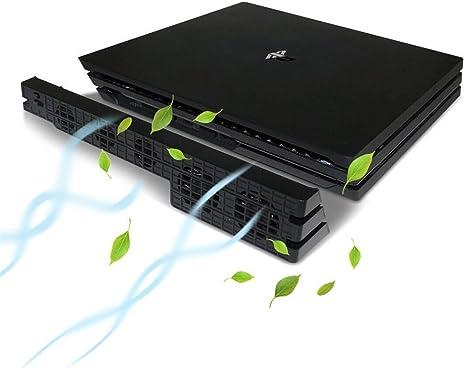 KONKY PS4 Pro Ventilador de Refrigeración Externo USB 5 ...