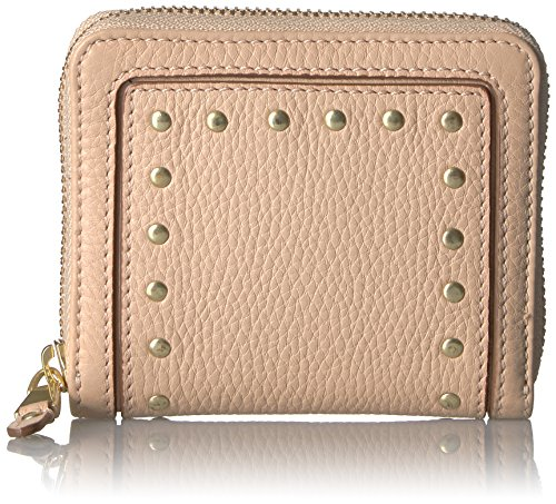 ssidy Small Zip Wallet, Nude, One Size ()