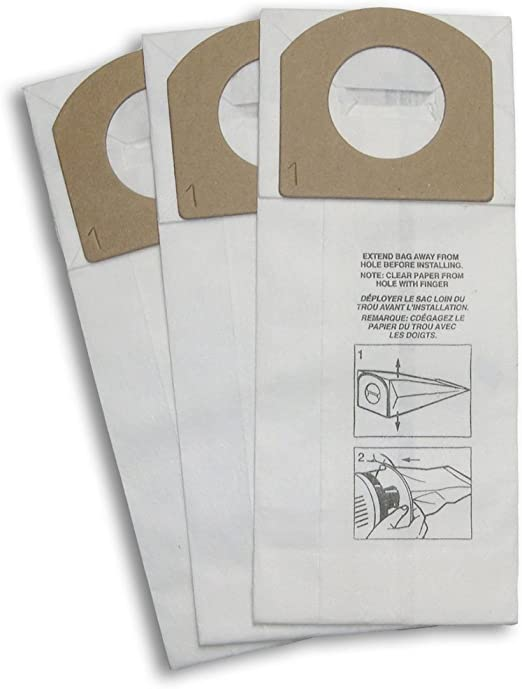 3103075001 9-Pack Dirt Devil Type G Microfresh Vacuum Bags
