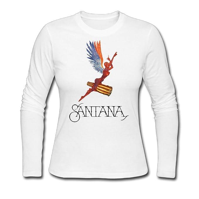 b73079516 Women Santana Abraxas Angel Tshirt Long Sleeve: Amazon.ca: Clothing &  Accessories