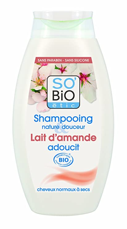Bio – Champú (con leche de almendras – 250 ml