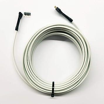 Berühmt 5 Meter Verbindung Verlängerung Kabel für RGB: Amazon.de: Elektronik ES95