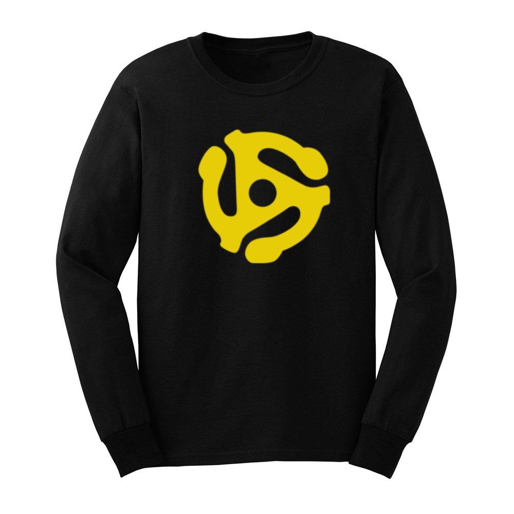 Loo Show S Dj 45 Rpm Adapter T Shirts Casual Tee
