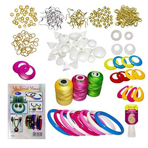 Silk Thread Jewelry Beginner Kit DIY