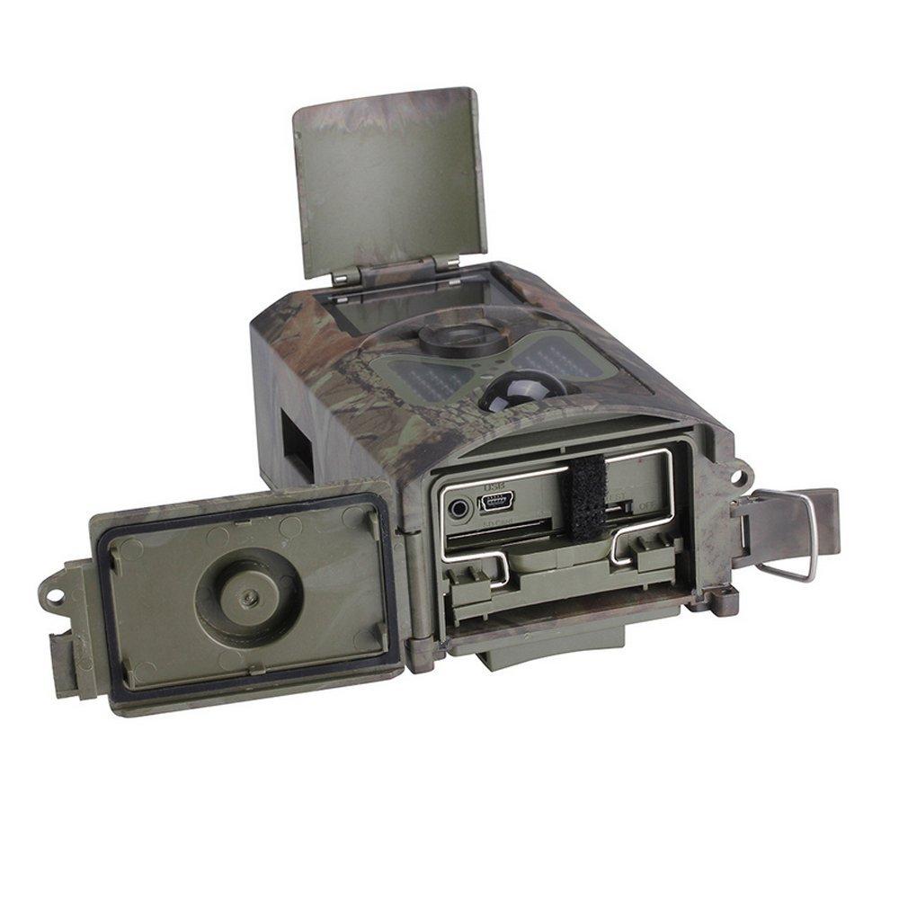 Dreamyth HC-500A outdoor IR sensor HD camera DVR Night Vision Hunting Wild Practical (Army green)