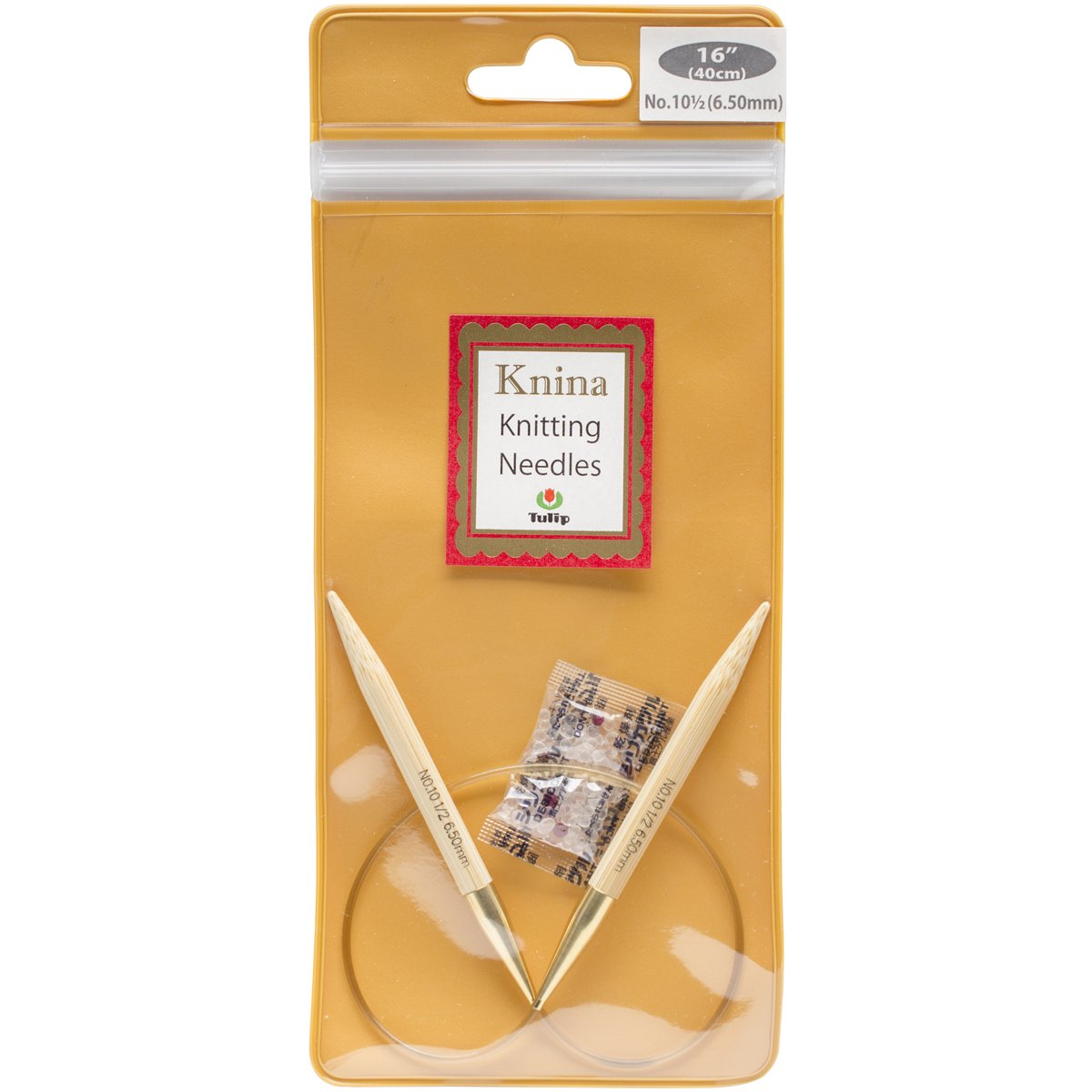 Tulip Needle Company 16 Knina Knitting Needles, 10.5/6.5mm by Tulip Needle Company B00USPNX60