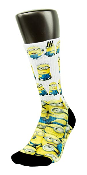 Amazon.com: Minions Custom Elite – Calcetines: Clothing