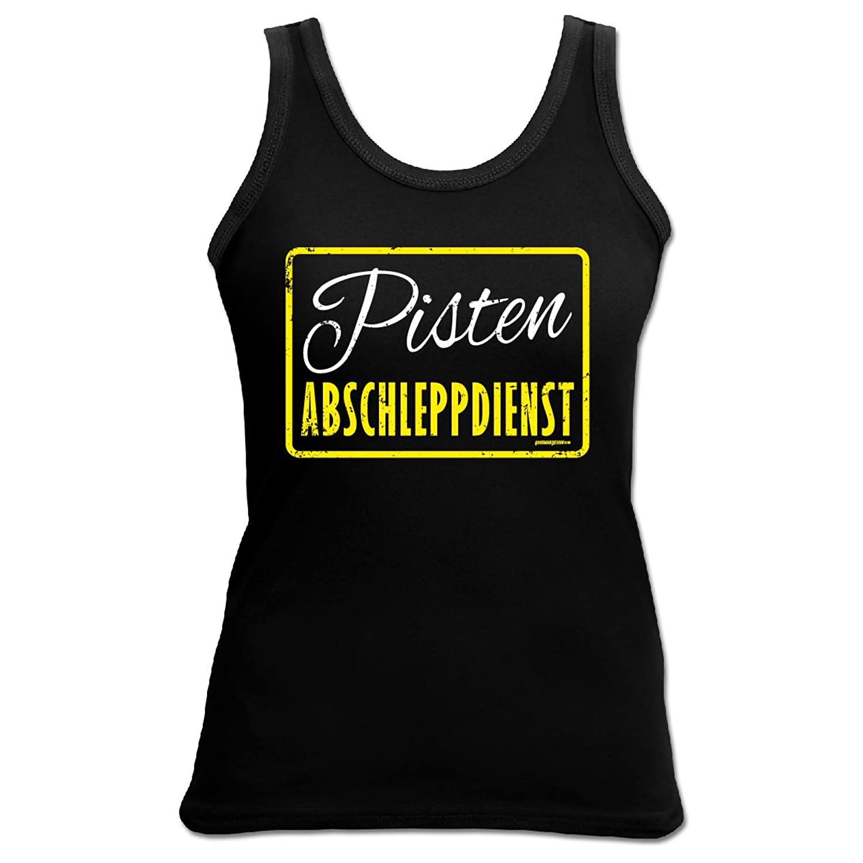 Damen Tank Top Shirt Pisten Abschleppdienst 4 Girls Apres Ski Tanktop Geschenk geil bedruckt Goodman Design