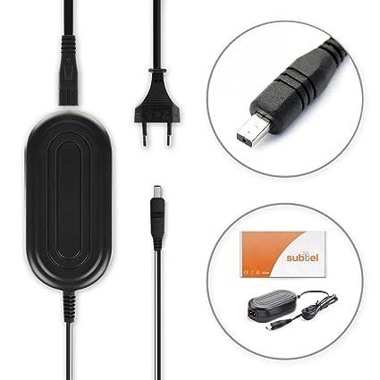 subtel® Cargador Compatible con Samsung VP-MX20 -MX10 SMX-F30 -F34 ...